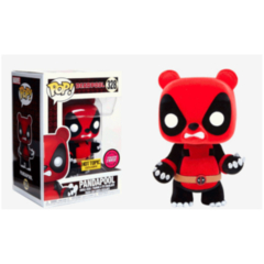 Pandapool   Deadpool Flocked Chase   Hot Topic Exclusive