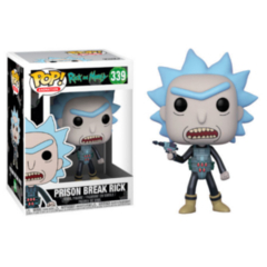 Funko POP - Rick and Morty Prison Break Rick 339