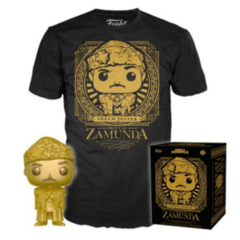 Funko POP - Coming to America Pop Tea - T-shirt and Pop. Golden Prince Hakeem and Large T-Shirt
