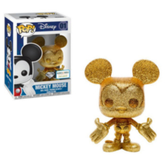 Funko POP - Mickey Mouse Diamond Collection   Disney   Barnes & Noble Exclusive