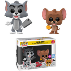 Funko POP - Tom and Jerry   Tom and Jerry   Funko Shop Flocked 2 Pack Exclusive