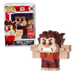 Funko POP - Ralph 8bit Wreck it Ralph Shared Convention Sticker