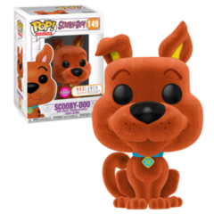 Funko POP - Orange Scooby Doo   Scooby Doo   BoxLunch Flocked Exclusive