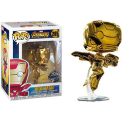 Funko POP Gold Chrome Iron Man #285