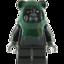 Ewok (Black with Spear)