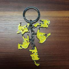 Pikachu in Action Key Chain
