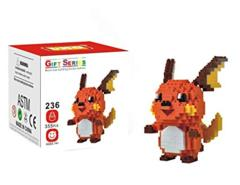 Raichu Mini Building Blocks