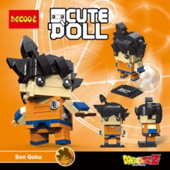Decool Mini Blocks: Goku
