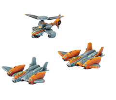 Monsterpocalypse: Unit Expansion - Strike Fighter/Rocket Chopper