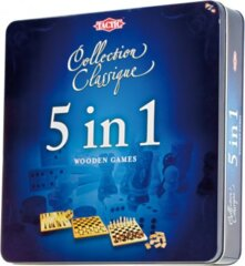 Collection Classic: 5 in 1 Wooden Games