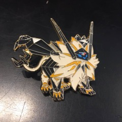 Pokemon Pin - Dusk Mane Necrozma