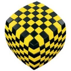 V Cube 7 - Black and Yellow