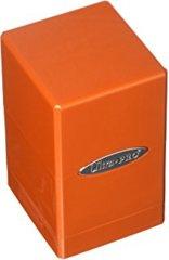 Metallic Orange Satin Tower
