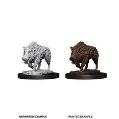 Wizkid's Unpainted Miniatures - Wild Boar