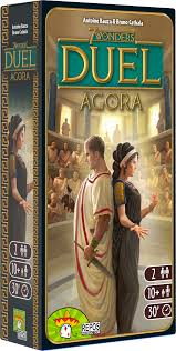 7 wonders Duel Expansion: Agora (FR)