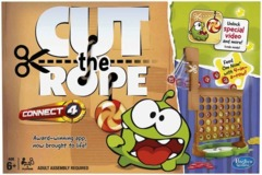 Connect 4 Cut the Rope edition