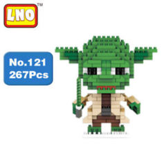 Yoda Mini Building Blocks