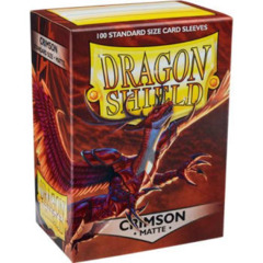 Dragon Shield Sleeves: Matte Crimson (100)