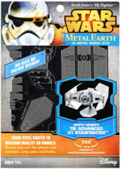 Star Wars Metal Earth: Darth Vader's Advanced Tie Fighter