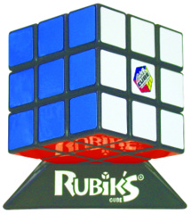Rubik's Cube (With Base)