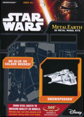 Star Wars Metal Earth: Snowspeeder