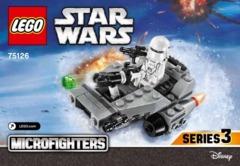 First Order Snowspeeder 75126