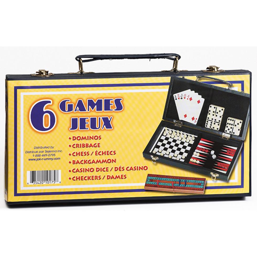 Petite Valise - 6 Games / Jeux