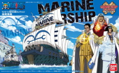 One Piece: Grand Ship Collection - Marine Warship