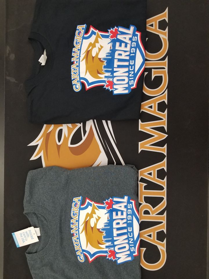 Carta Magica T-Shirt (Large Black)