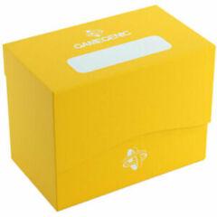 Gamegenic: Deck Box - Sideholder 80+ Yellow (Inclus Séparateur)