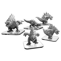 Monsterpocalypse: Unit Expansion - Carnidons/Spikodon
