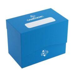 Gamegenic: Deck Box - Sideholder 80+ Blue (Inclus Séparateur)