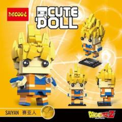Decool Mini Blocks: Goku Super Saiyan