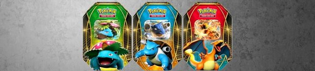 Pokemon-tins