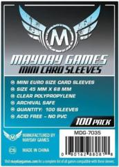Mini Euro Card Sleeves (45x68mm) (Pack of 100)