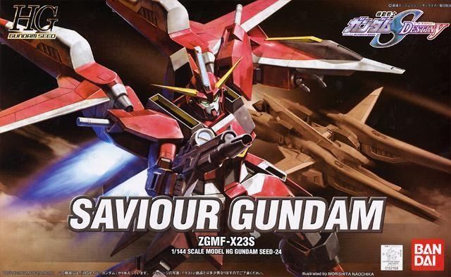 HG Saviour Gundam