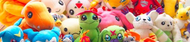 Digimon-plushies
