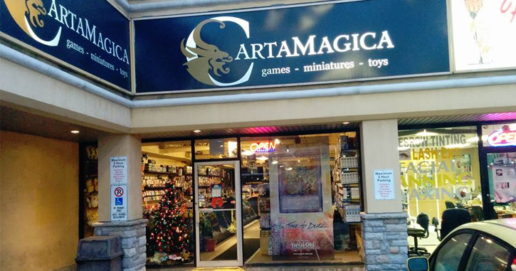 Carta Magica Ottawa Front