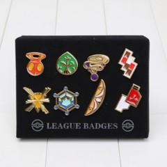 Pokemon Pin - Gym Badges Box (Gen 6)