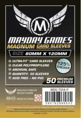 Mayday Games - 80mm x 120mm Premium Sleeves (Pack of 50)