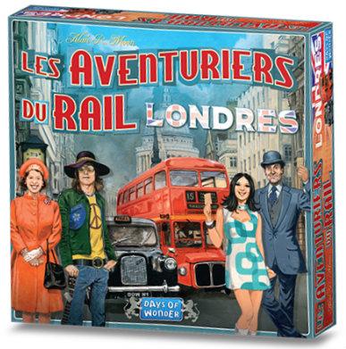 Les Aventuriers Du Rail: Londres