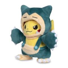 Pikachu Disguise/Snorlax Plush ~15cm
