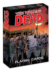 The Walking Dead Playing Card