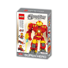 Superteam - Hulkbuster Building Blocks