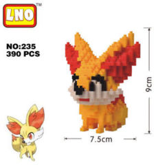 Fennekin Mini Building Blocks