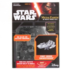 Star Wars Metal Earth: First Order Snowspeeder