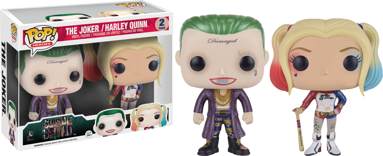 Pop Suicide Squad Joker Harley Duo Pack Figurines Toys And Accessory Pop Anime Etc Pop Figurines Pop Dc Comics Carta Magica