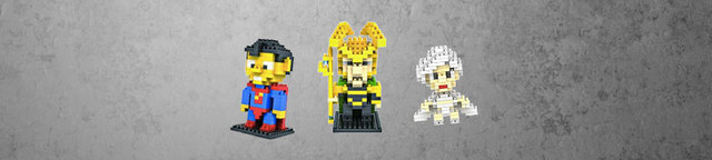 Super-heroes-mini-building-blocks