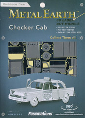 Metal Earth: Checker Cab