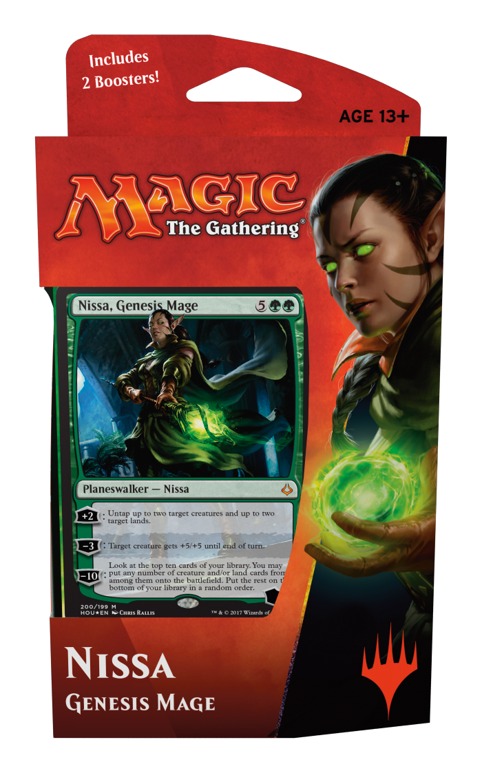 Hour of Devastation Planeswalker Deck - Nissa Genesis Mage - Magic Products  » Intro Packs   Decks - Carta Magica 0d379be521f7